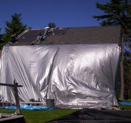 Тент перекрытие крыши TENEXIM