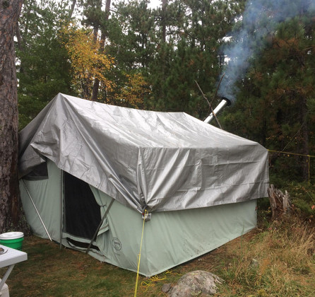 Тент накрытие палатки TENEXIM SUPER MOCNY 160 г/м2