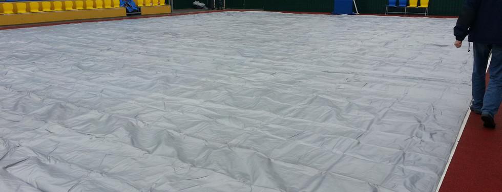 Тент накрытие спортивной площадки