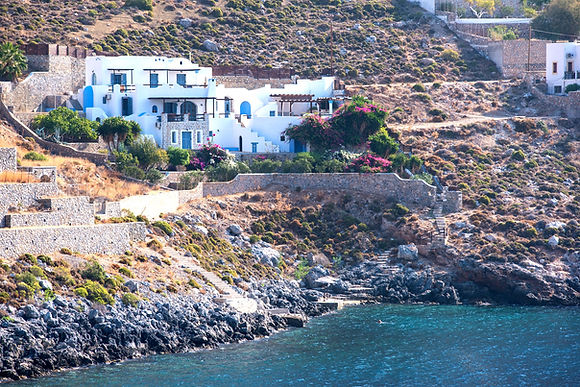 Private villa for let with pool in Kalymnos Greece