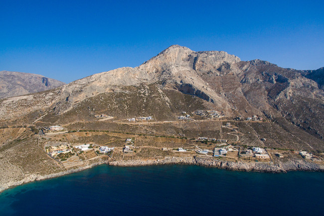Climbing Area behind the Villa in Kalymnos, Greece