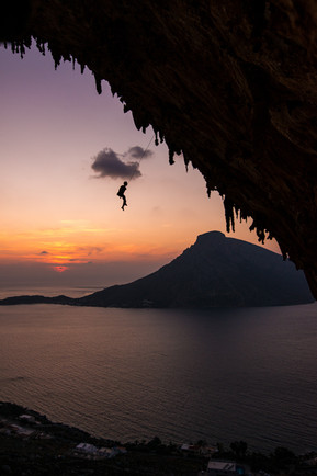 Climbing in Kalymnos, Greece