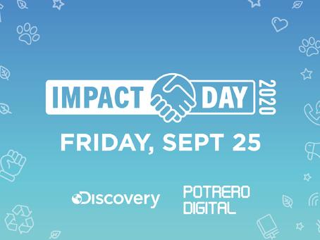 Discovery Impact Day: Día de voluntariado de Discovery, junto a alumnos de Potrero Digital