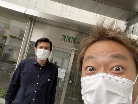 熊本ローカルタレント的吉本新喜劇の方とお仕事
