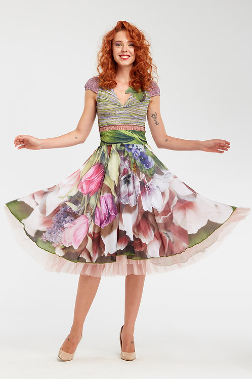 Skirt Shiffon - In Paradiso