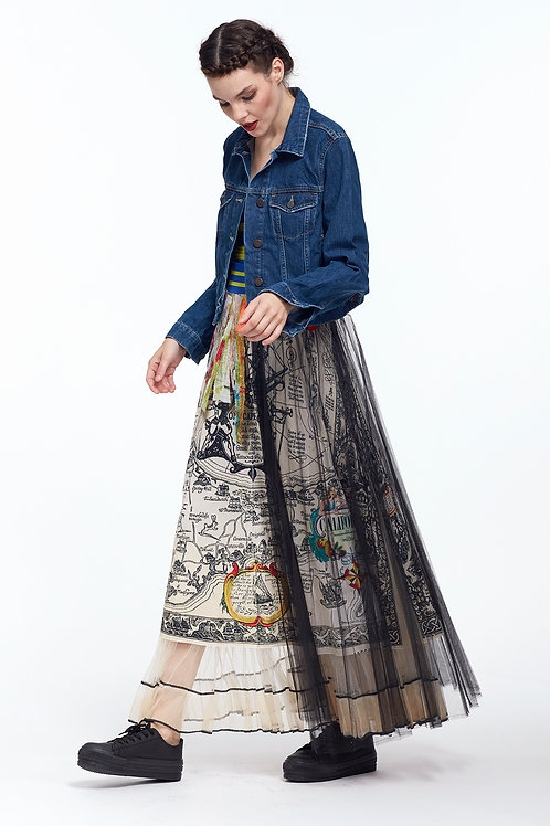 Skirt High Waist - Paper Boat