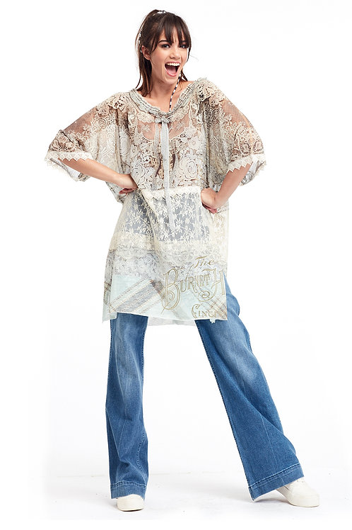 Blouse T Long - Antique Therapy