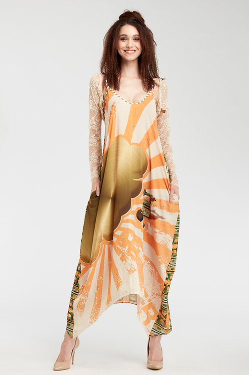 Dress V Neck - Sunny Speach