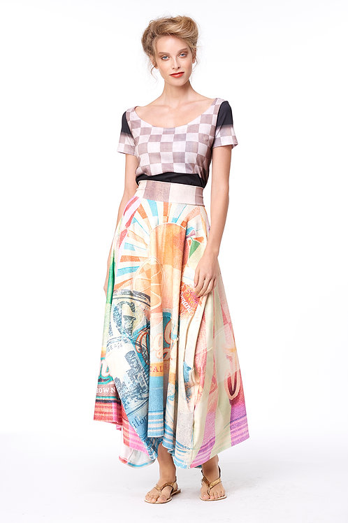 Skirt Four Corners - Salty Kisses Sandy Toes