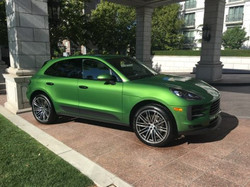 Porshce Macan perfectly detailed for sho
