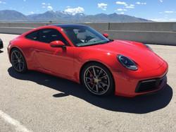 hot red porsche 911maintainedbby OTT car