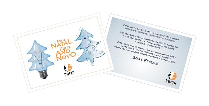 Cartão de Final de Ano