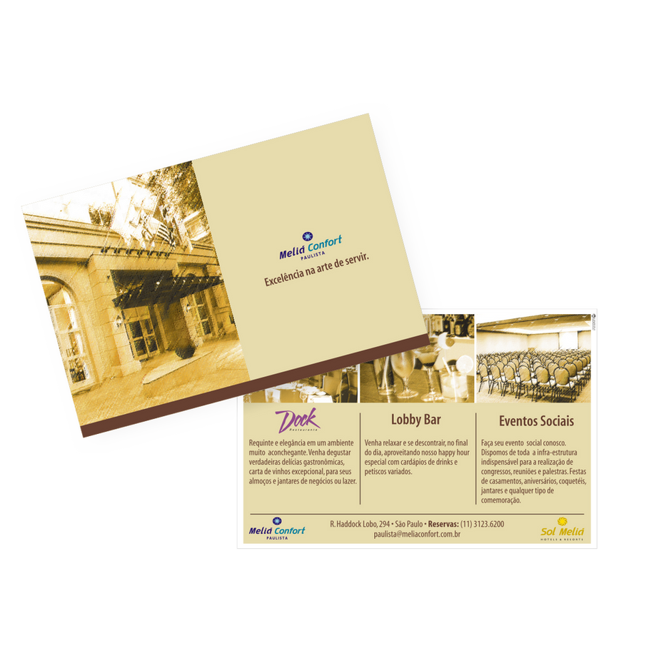 Postal Pormocional Restaurante e Bar