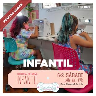 COSTURA CRIATIVA INFANTIL 6/FEVEREIRO