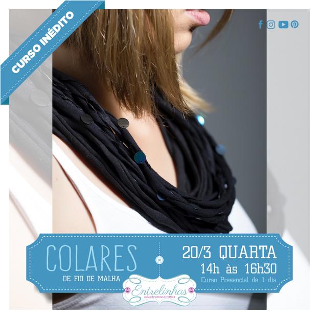 COLARES DE FIOS DE MALHA 20/MAR/21