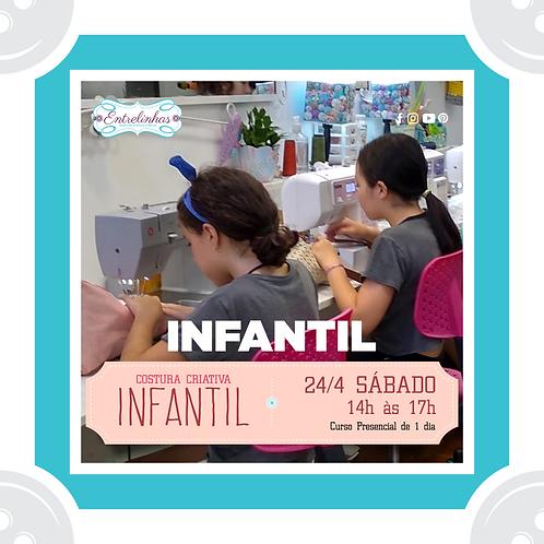 COSTURA CRIATIVA INFANTIL - 24/ABRIL