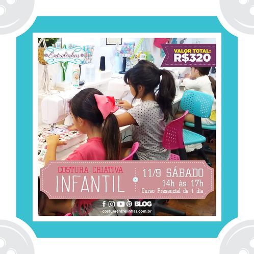 COSTURA CRIATIVA INFANTIL - 11/SETEMBRO