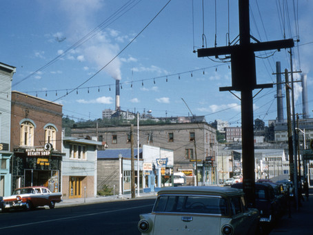 Then & Now: A sunny day in Trail, 1957