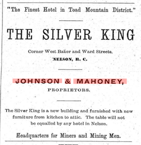 Hyde, Titsworth, and the Silver King Hotel
