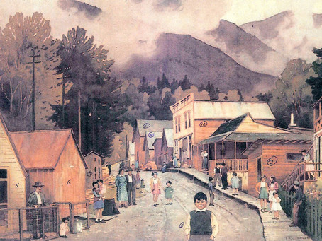 Sandon in watercolour, 1944