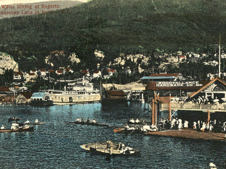 Nelson's floating pavilions