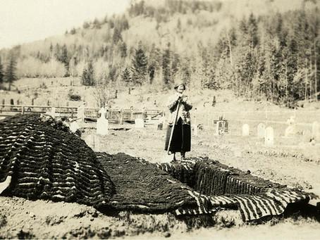 Maggie Bond, gravedigger