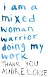 i am a mixed woman warrior