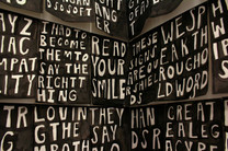 Lukaza Branfman-Verissimo, We are all speaking at the same time, 2018, detail