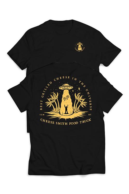 UFO Shirt Black Short Sleeve
