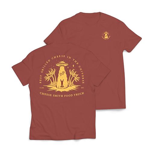 UFO Shirt Rust Short Sleeve