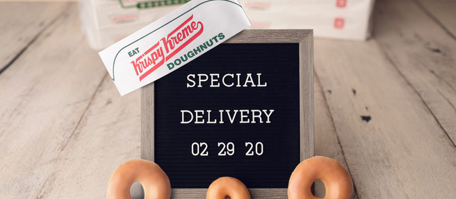 Krispy Kream now available for delivery