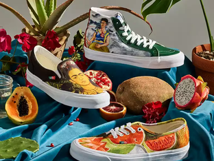 Vans new collection honors Mexican artist Frida Kahlo and her amazing, iconic artwork