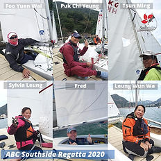 Southside Regatta 2020 Sailability Team.