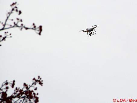 71-årig fundet af drone