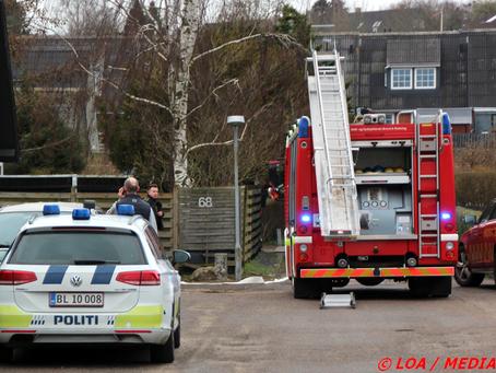 Bygningsbrand på Engvej i Gelsted