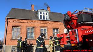 Hurtigt overstået skorstensbrand på Heibergsvej