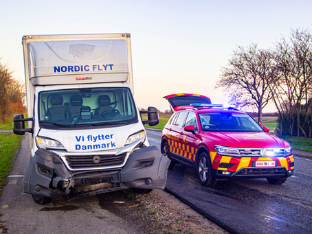 Trafikulykke med 3 biler i Rønnede.