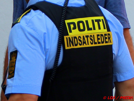 44-årig sigtet for vold mod politibetjent