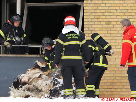 Lejlighed sod og røgskadet efter brand i madras