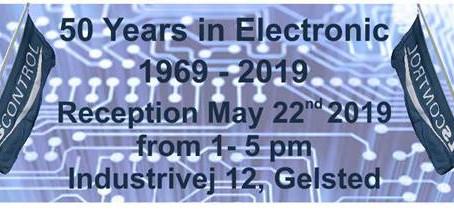 Udviklings- og produktionsvirksomheden LS Control A/S fejrer 50-års jubilæum d. 22/5 2019