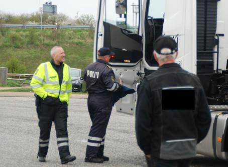 Stor bødestraf til lastbilchauffør og vognmand for manglende kørselsdokumentation