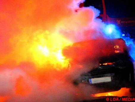 Stjålet bil brændt af i Allingemagle uden for Ringsted