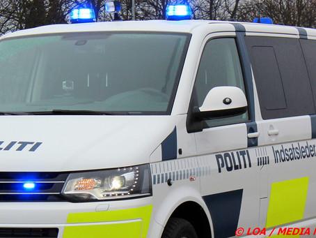 Narkobilist stak af fra politiet på Vestmotorvejen