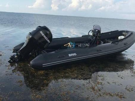 Frækt tyveri af gummibåd fra Rotteøen i Karrebæksminde.