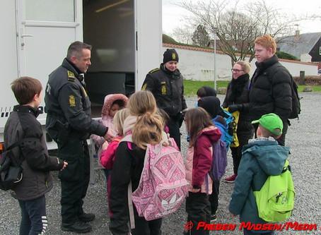 Den mobile politistation besøgte Karrebæk.