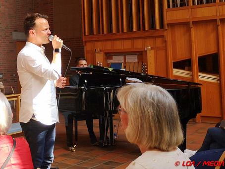 Bryan Rice gav intim koncert i Skt. Jørgens Kirke