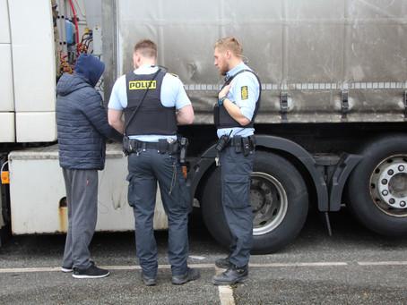 Lygtefejl på lastbil afslørede stribevis af fejl og overtrædelser
