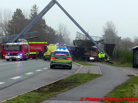 Den seje kamp om A-broen over Østre Ringvej i Næstved er slut.