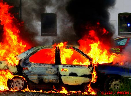 Forøget indsats fra politiet efter påsatte brande
