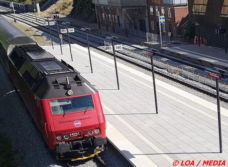 Aggressiv mand i tog mod Vordingborg